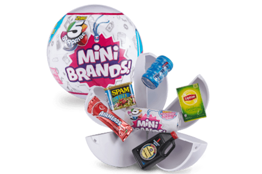 FIND MENTOS, AIRHEADS AND CHUPA CHUPS IN THE 5 SURPRISE MINI BRANDS BY ZURU!