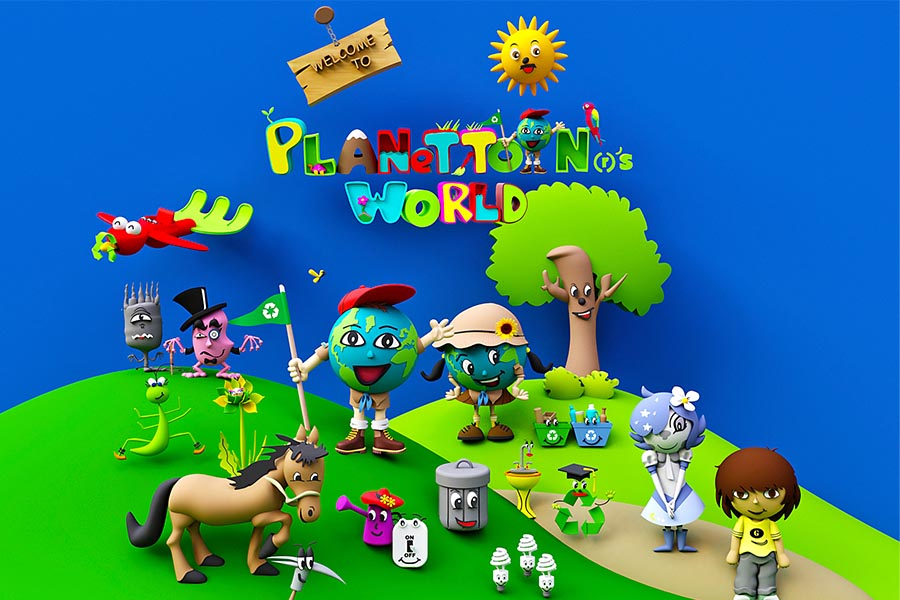 Precious Creative Co. announces the launch of Planettoon®'s world this June
