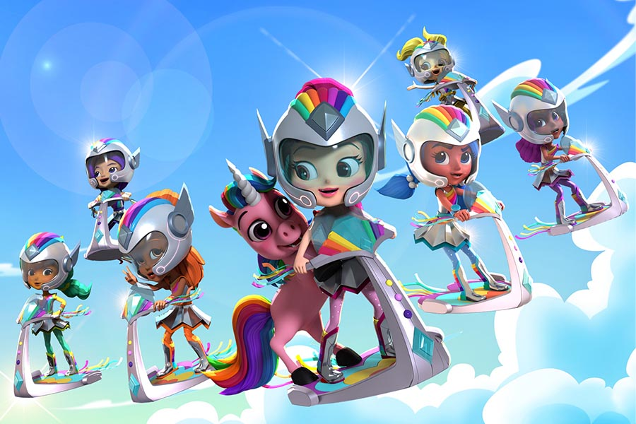 Cartoonito Italy picks up 'RAINBOW RANGERS' from Genius Brands
