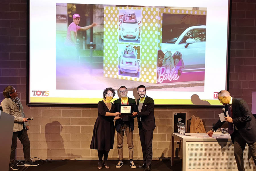 Mattel awarded at the Toys Awards 2019
