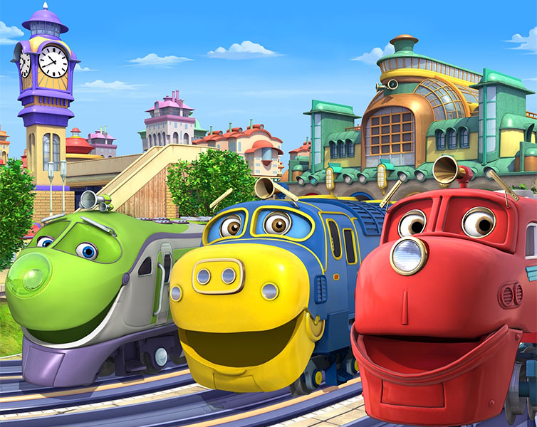 HERSCHEND ENTERTAINMENT STUDIOS TO PRODUCE SEASON SIX OF CHUGGINGTON AND ALPHA GROUP AS GLOBAL MASTER TOY PARTNER