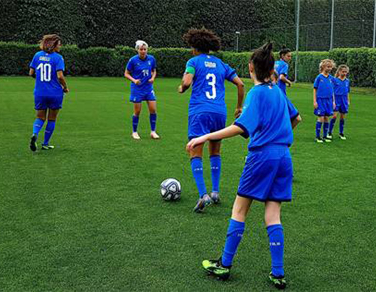 Barbie and the FIGC together to realize the dream of five little footballers