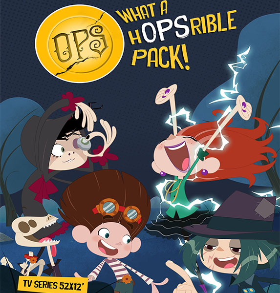 B&R360 TO DISTRIBUTE NEW ANIMATION COMEDY SERIES OPS, WHAT A HOPSRIBLE  PACK
