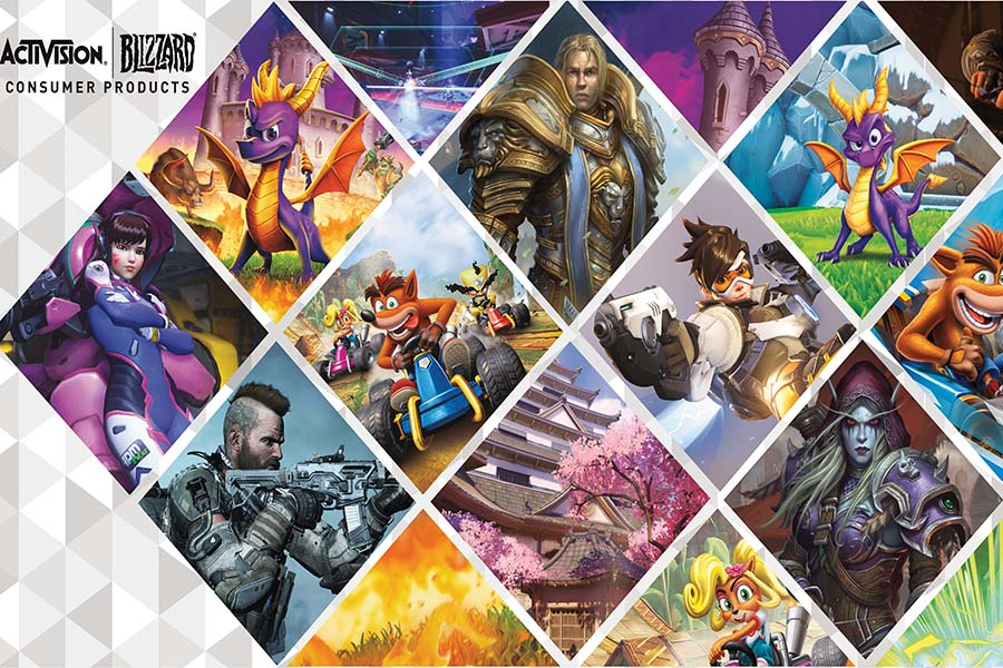 ACTIVISION BLIZZARD RETURNED TO LICENSING EXPO WITH GREAT NEWS