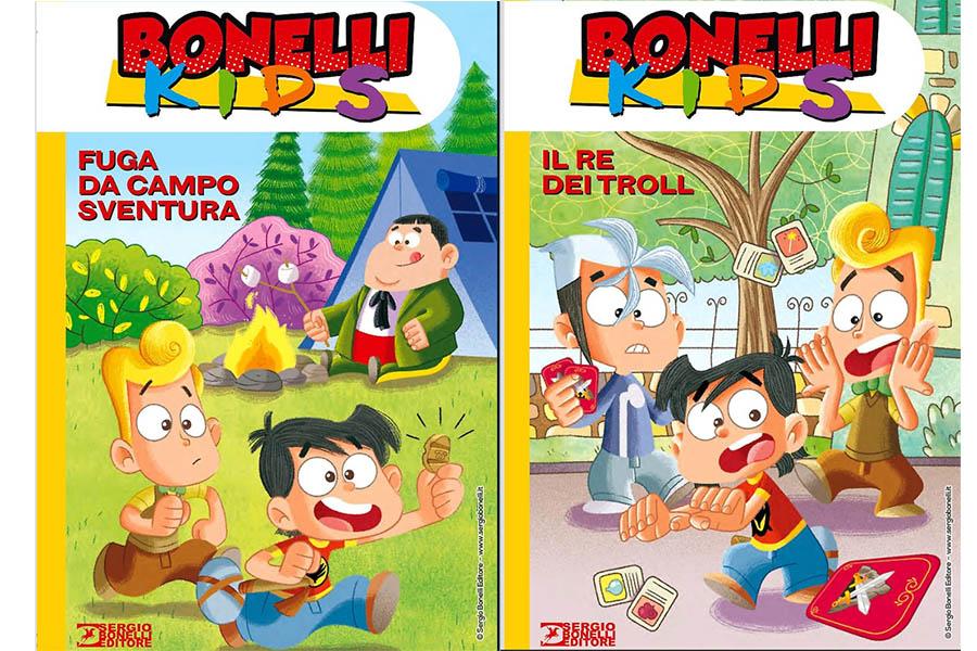 SERGIO BONELLI EDITORE PRESENTS TWO NEW ADVENTURES BONELLI KIDS
