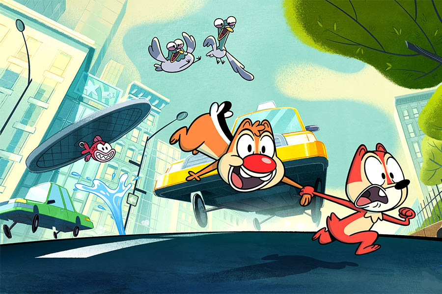 XILAM WITH DISNEY TO PRODUCE CHIP'N'DALE BASED ANIMATED SERIES