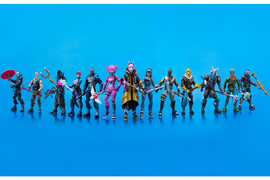 New 'Fortnite' Action Figures Revealed At New York Toy Fair