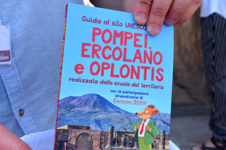 GERONIMO STILTON PRESENTS THE GUIDE TO VESUVIAN ARCHAEOLOGICAL SITES