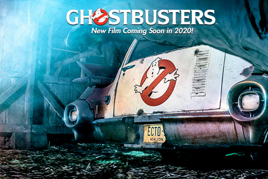 IN UPCOMING YEARS GHOSTBUSTERS WILL SHINE WITH MAJOR NEWS