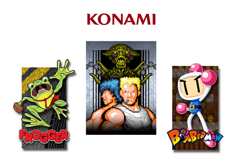 KONAMI CROSS MEDIA SIGNS FIRST WAVE OF LICENSING DEALS FOR ICONIC GAMING TITLES