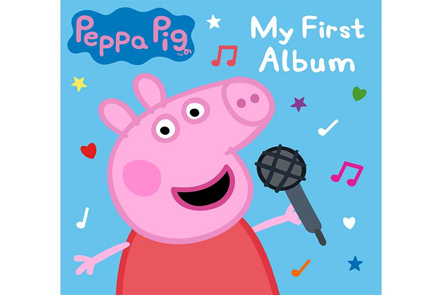PEPPA PIG PRONTO PER LANCIARSI NELLE CLASSIFICHE MUSICALI