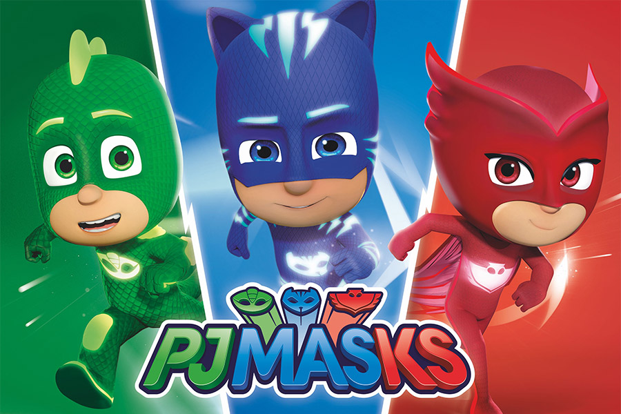 SERIES FOUR OF ENTERTAINMENT ONE'S PJ MASKS SWOOPS INTO PRODUCTION