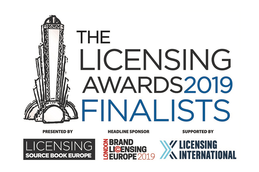 RIVELATI I FINALISTI DEL LICENSING AWARDS 2019