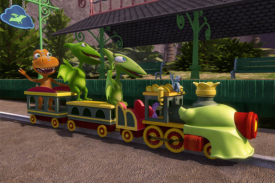 DINOSAUR TRAIN IN EUROPE, MIDDLE EAST AND NORTH AFRICA