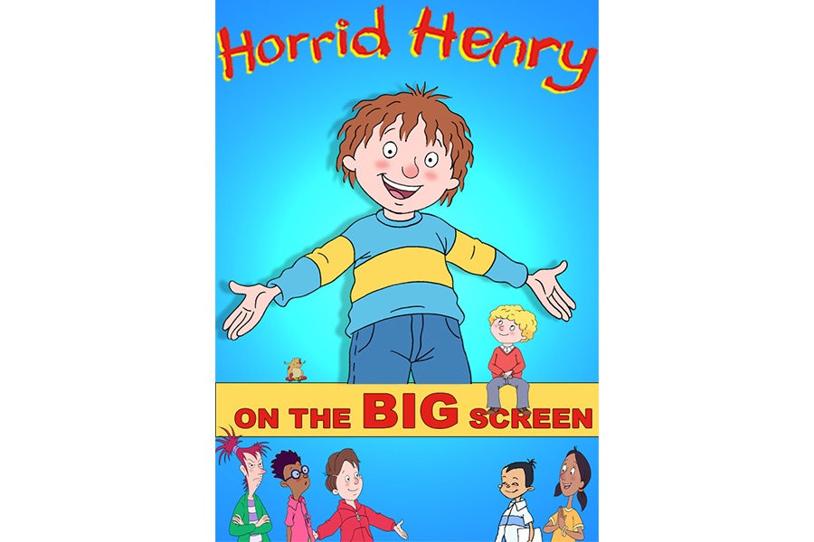 HORRID HENRY HITS THE BIG SCREEN WITH VUE