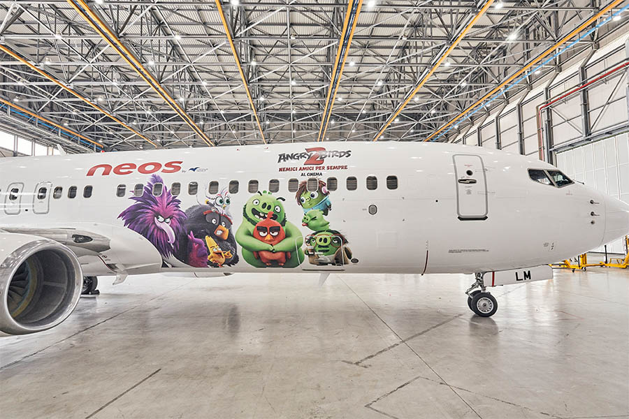 ANGRY BIRDS TAKE FLIGHT WITH NEOS!