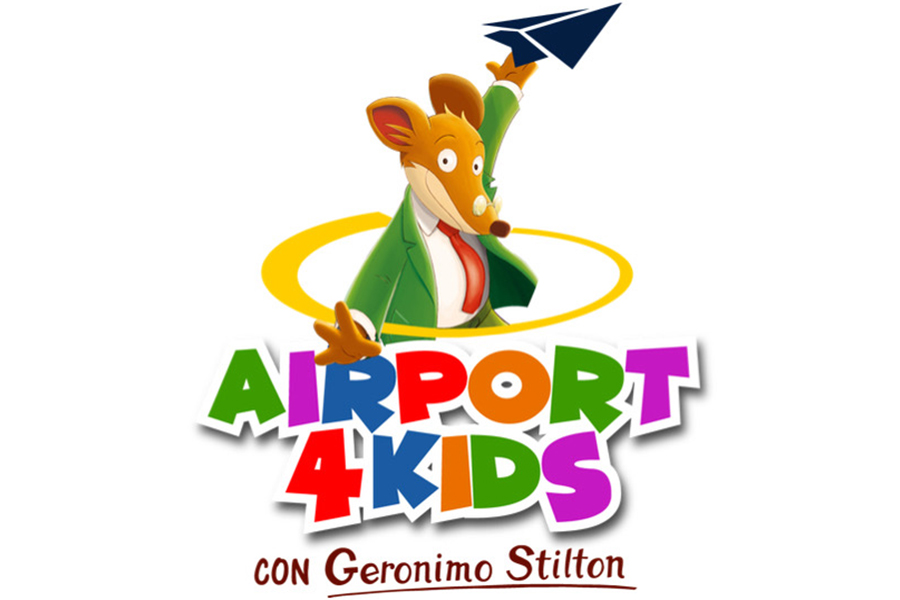 """AIRPORT4KIDS CON GERONIMO STILTON"""