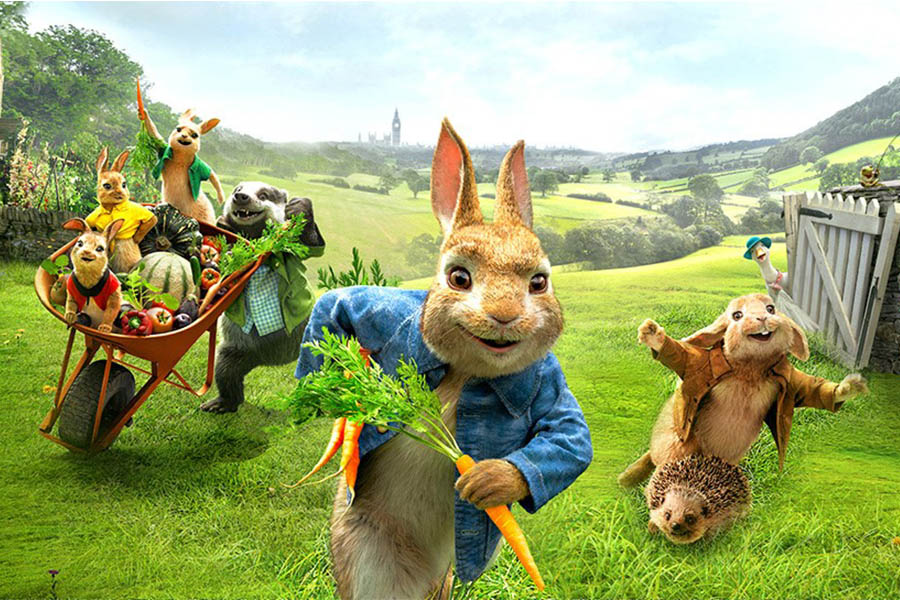 NEW LICENSING PARTNERS FOR PETER RABBIT