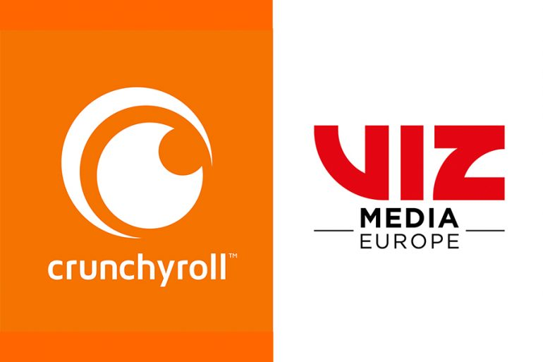 CRUNCHYROLL PARTNERSHIP WITH VIZ MEDIA