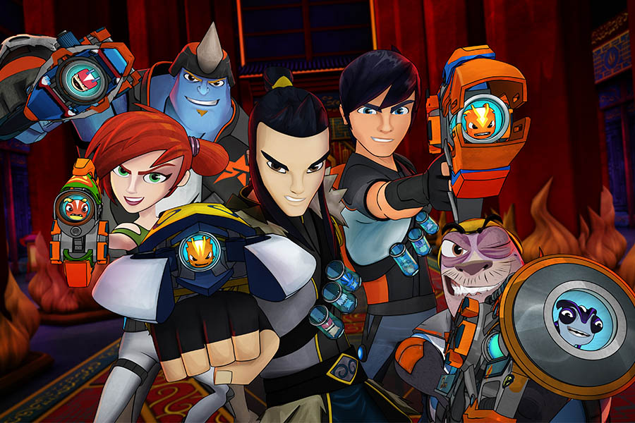 EPIC STORY MEDIA FOR SLUGTERRA AND CHAOTIC