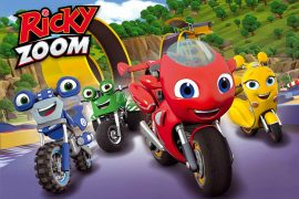 RICKY ZOOM RACES ONTO UK SCREENS