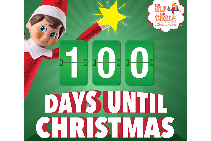 THE COUNTDOWN TO CHRISTMAS IS ON!