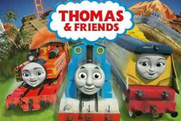 THE TRENINO THOMAS LOVED BY CHILDREN