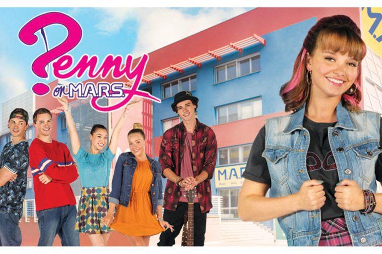 Disney +: Le novità in arrivo a luglio + locandina Penny on MARS