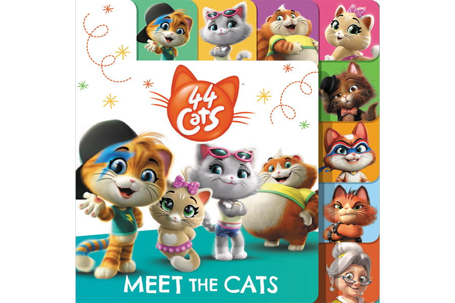 44 CATS EXPANDS WITH HARPERCOLLINS