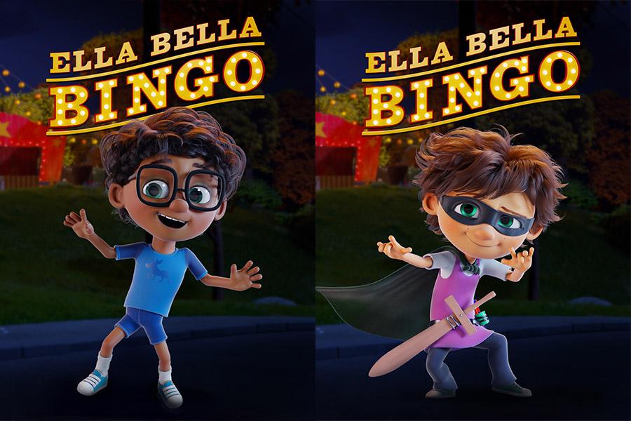 CAST INTERNAZIONALE PER ELLA BELLA BINGO