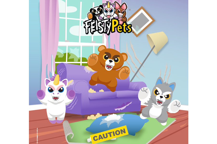 MONDO TV ANNOUNCES FEISTY PETS DEAL