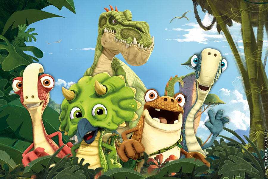 "CYBER GROUP STUDIOS APPOINTS MDL LICENSING AGENCY IN ITALY FOR HIT SERIES ""GIGANTOSAURUS"""
