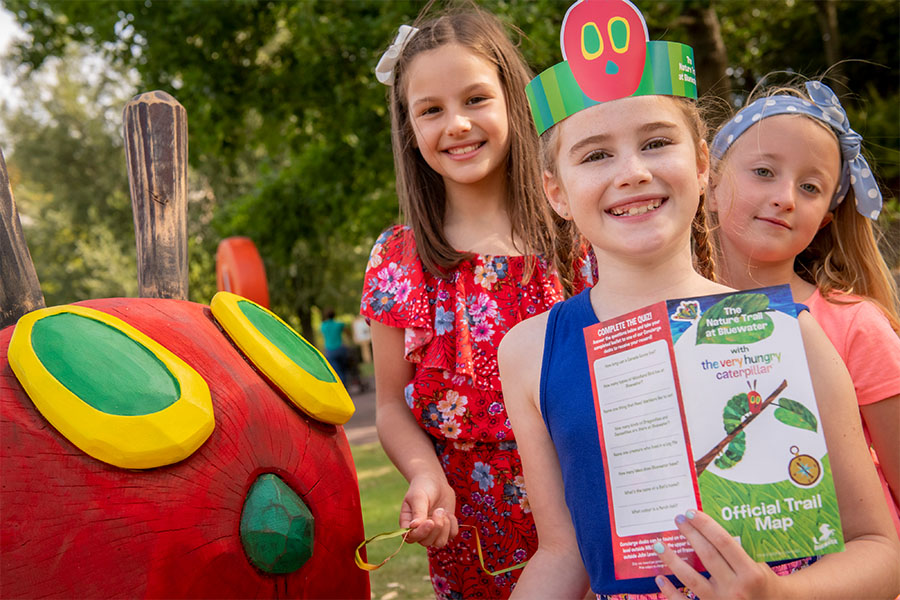 VERY HUNGRY CATERPILLAR FOR BLUEWATER