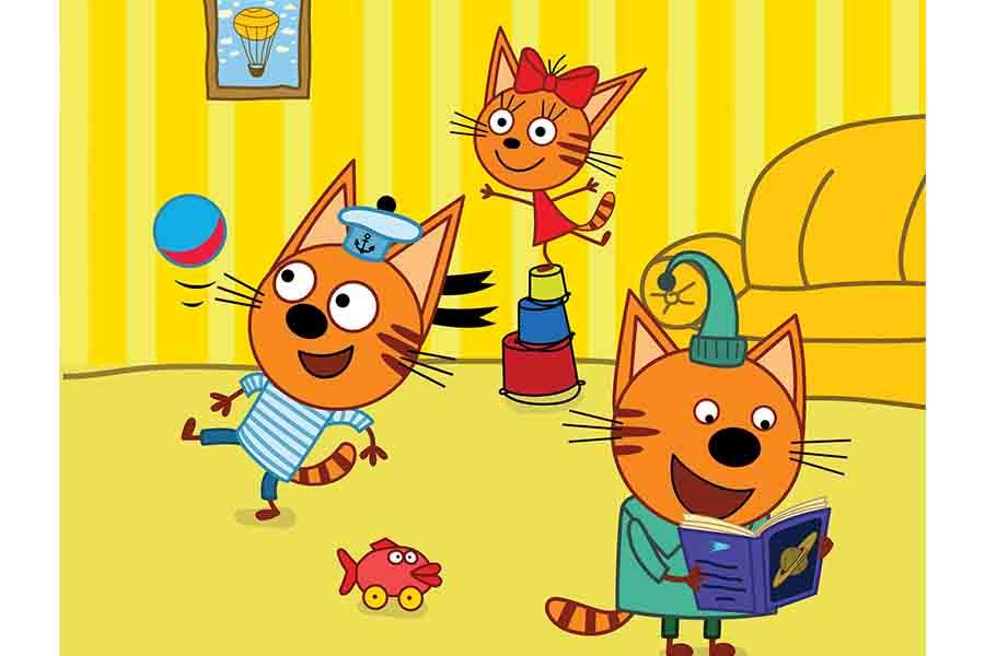 APC KIDS TAKES KID-E-CATS TO GULLI