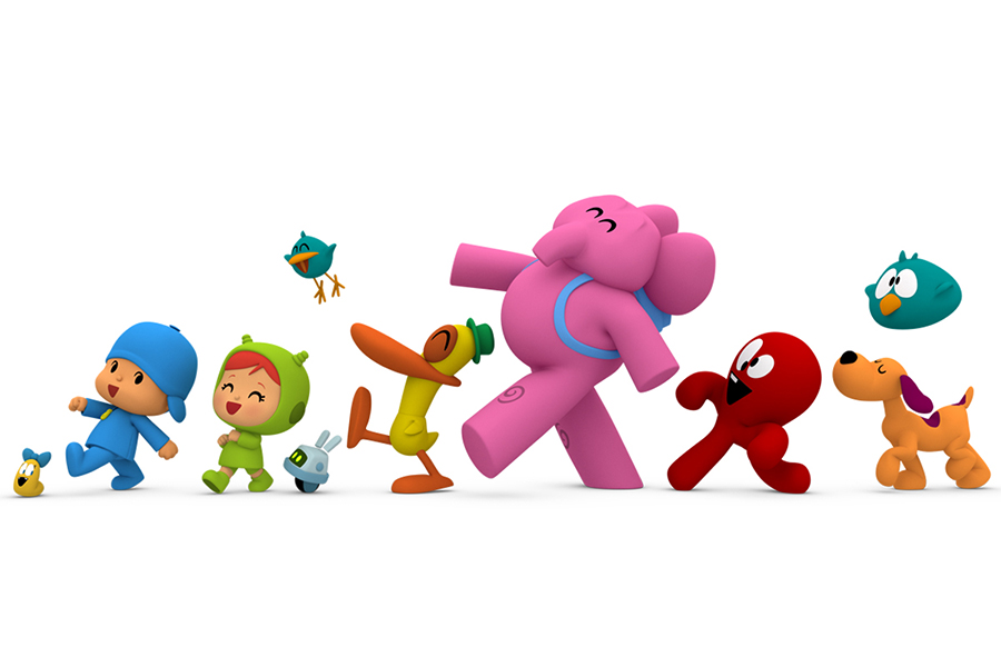 BANDAI FOR NEW LINE OF POCOYO TOYS