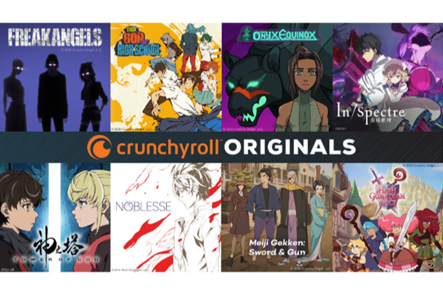 THE INAUGURAL SLATE OF CRUNCHYROLL ORIGINALS