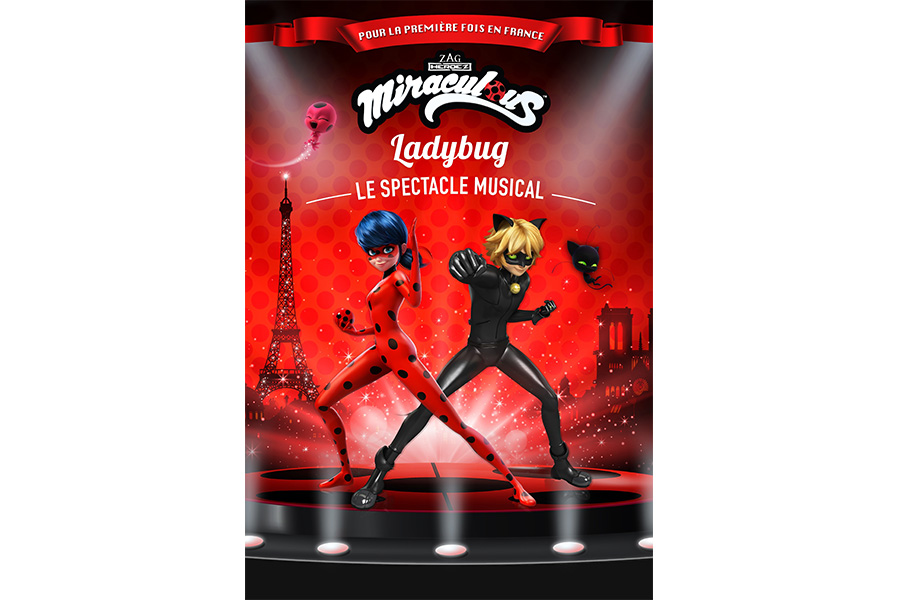MIRACULUS LADYBUG: LE SPECTACLE MUSICAL