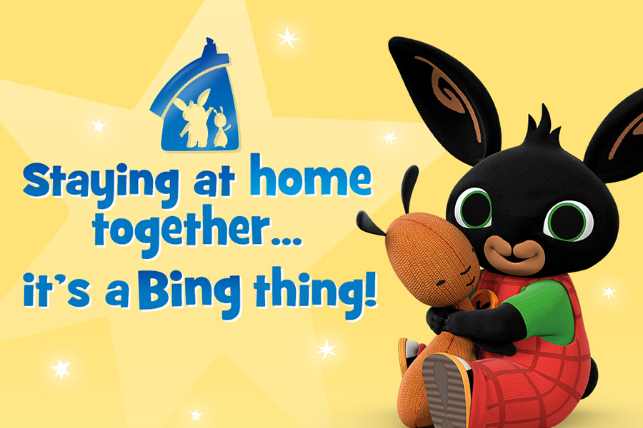 STAY AT HOME… IT'S A BING THING!
