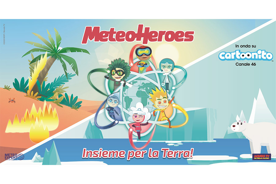 METEOHEROES: FROM JULY 6TH ON CARTOONITO TV PREMIERE