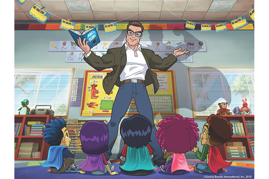 AMAZON PRIME LANCIA SUPERHERO KINDERGARTEN DI STAN LEE
