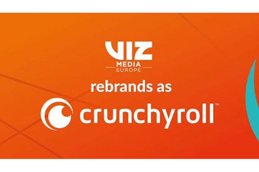 VIZ MEDIA EUROPE REBRANDS AS CRUNCHYROLL