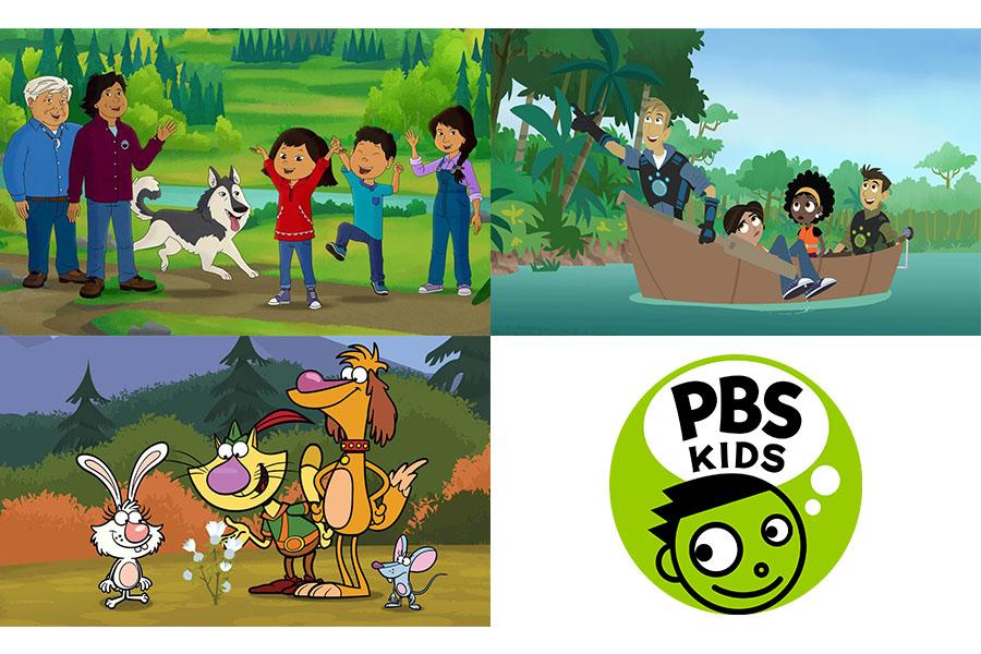 NEW PROGRAMMING ON PBS KIDS