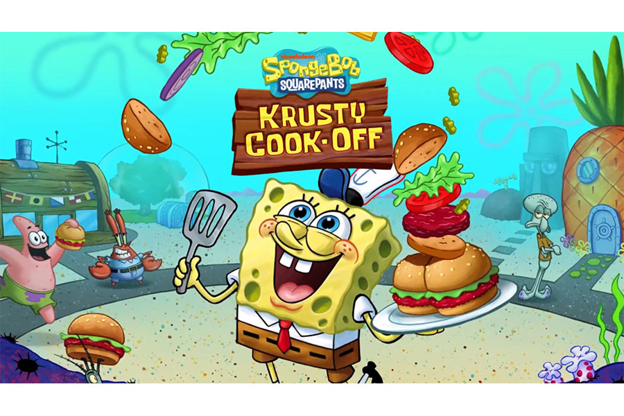 SPONGEBOB: KRUSTY COOK-OFF SERVES UP FUN UNDER THE SEA