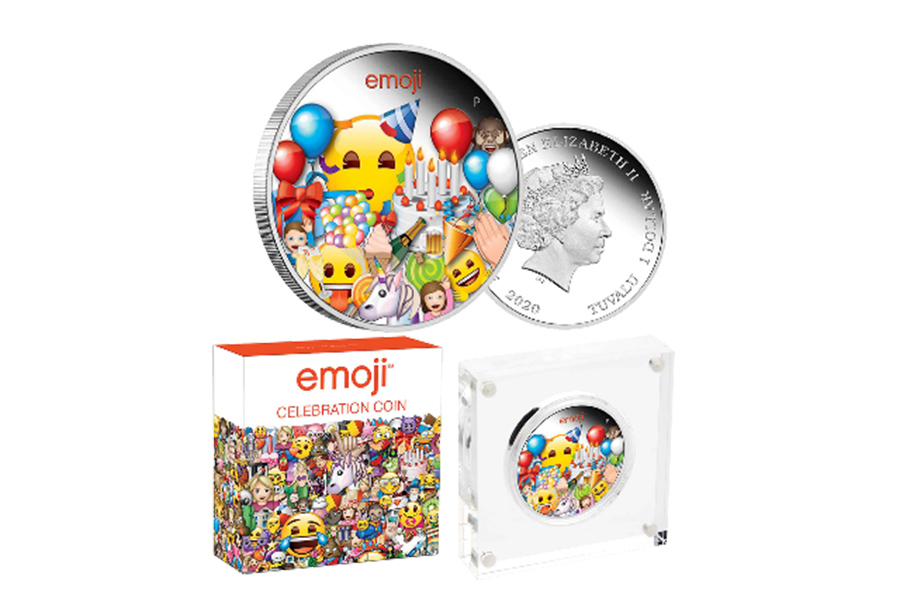 THE PERTH MINT AND EMOJI® PARTNERSHIP