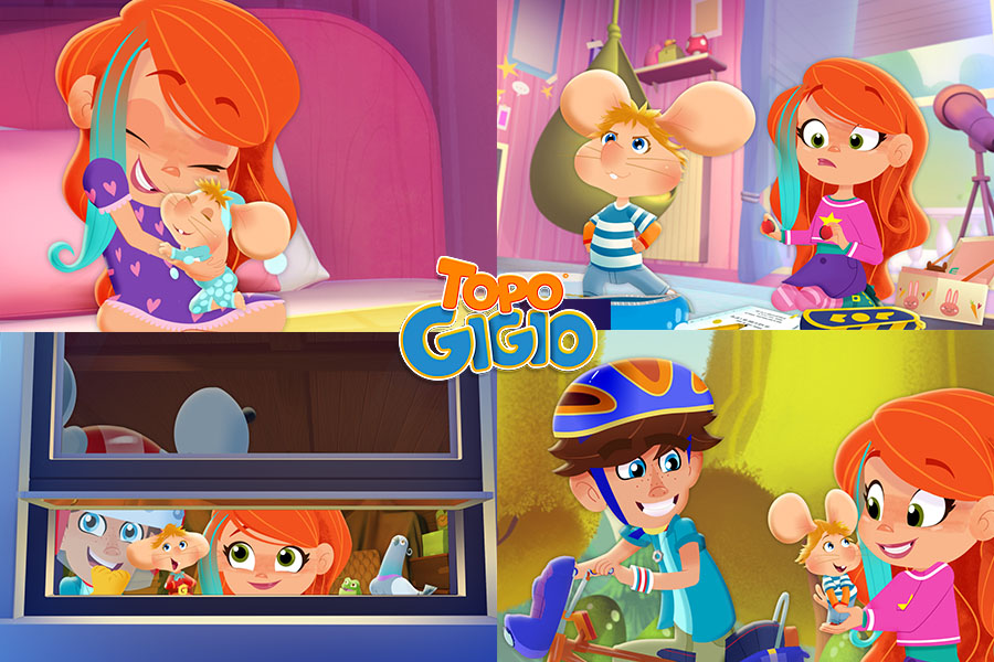 TOPO GIGIO ARRIVES IN A BRAND NEW ANIMATED SERIES