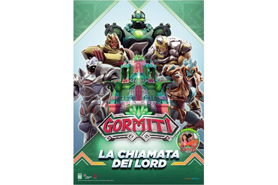 PLANETA JUNIOR, GAMES PRATIONS AND KOTOC ANNOUNCE THE FILM OF THE GORMITI