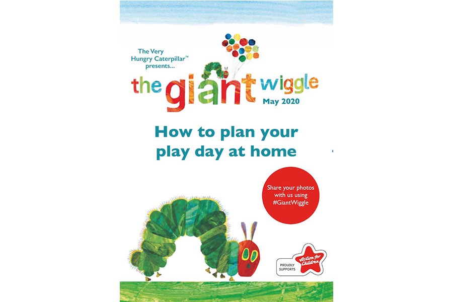 THE VERY HUNGRY CATERPILLAR GETS LITTLE ONES WIGGLING AT HOME