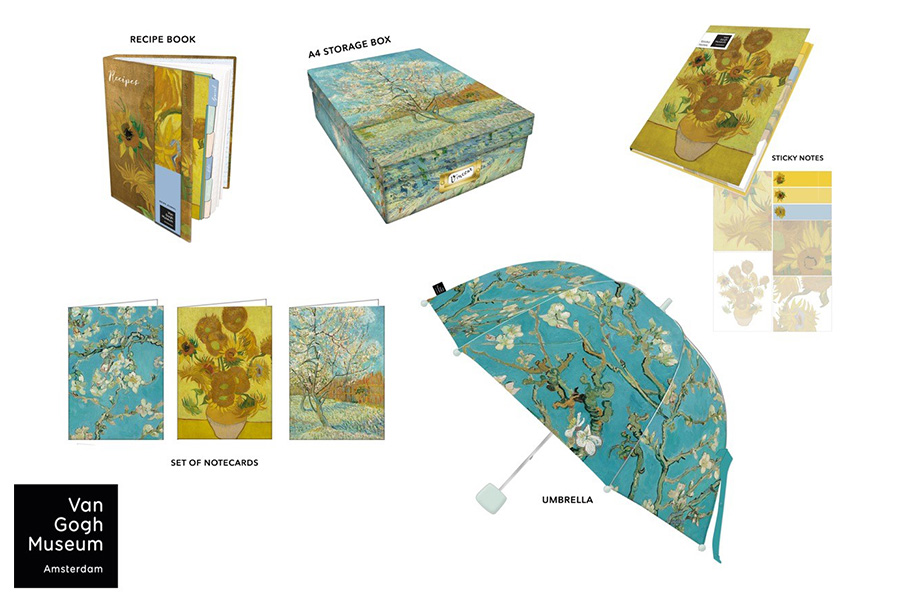 LICENSING LINK EUROPE ADDS TRIO OF NEW PARTNERS FOR VAN GOGH MUSEUM