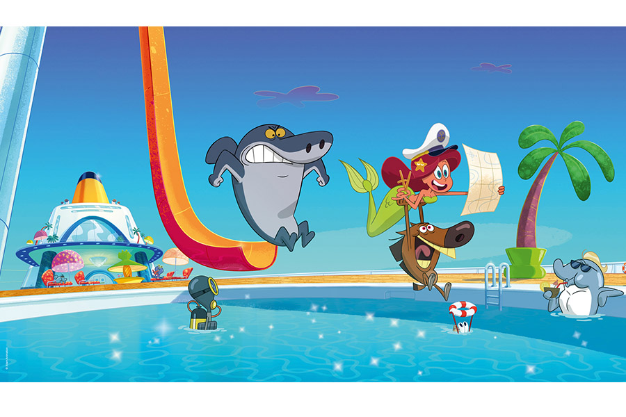 LICENSING WORKS FOR ZIG & SHARKO