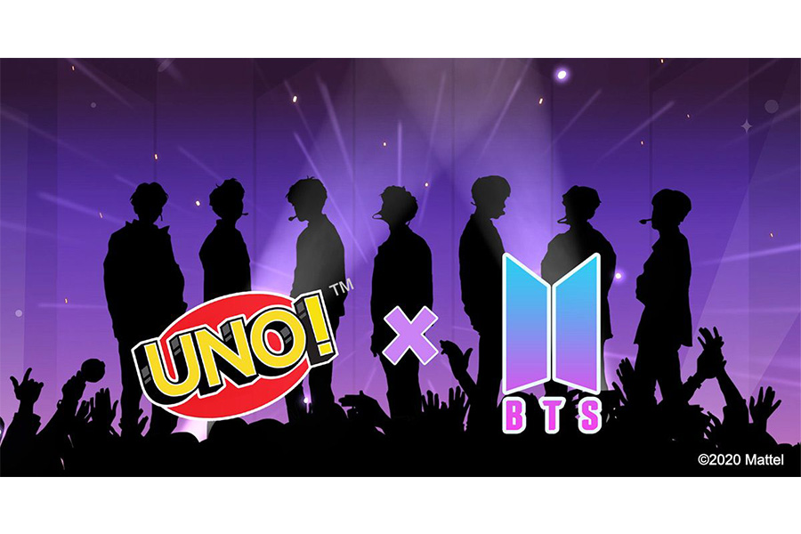 GLOBAL SUPERSTARS BTS TAKE OVER UNO! MOBILE